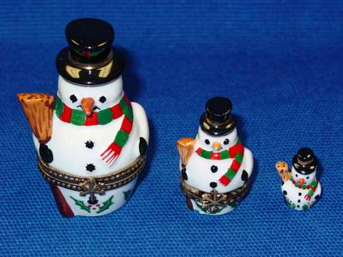3 STACKING SNOWMEN